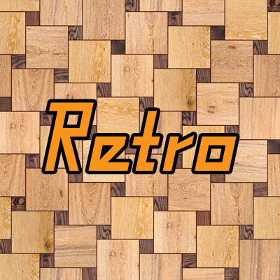 Royalty-free Retro Fonts